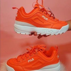 Orange fila's